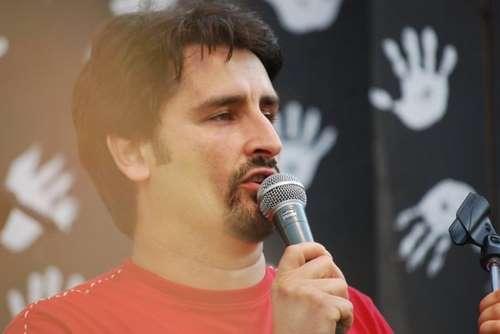 Max Podestà, lo storico presentatore