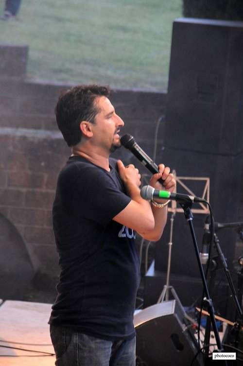 Max Podestà, il presentatore